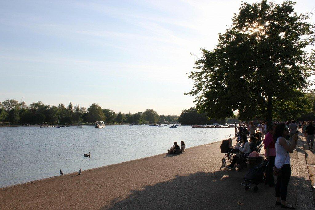 Hyde Park - Mapa de Londres