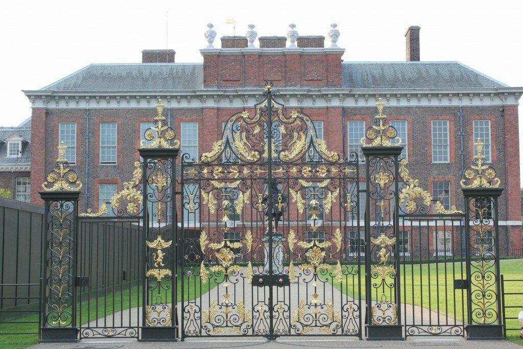 Palácio de Kensington é a morada do Príncipe. Foto: Mapa de Londres
