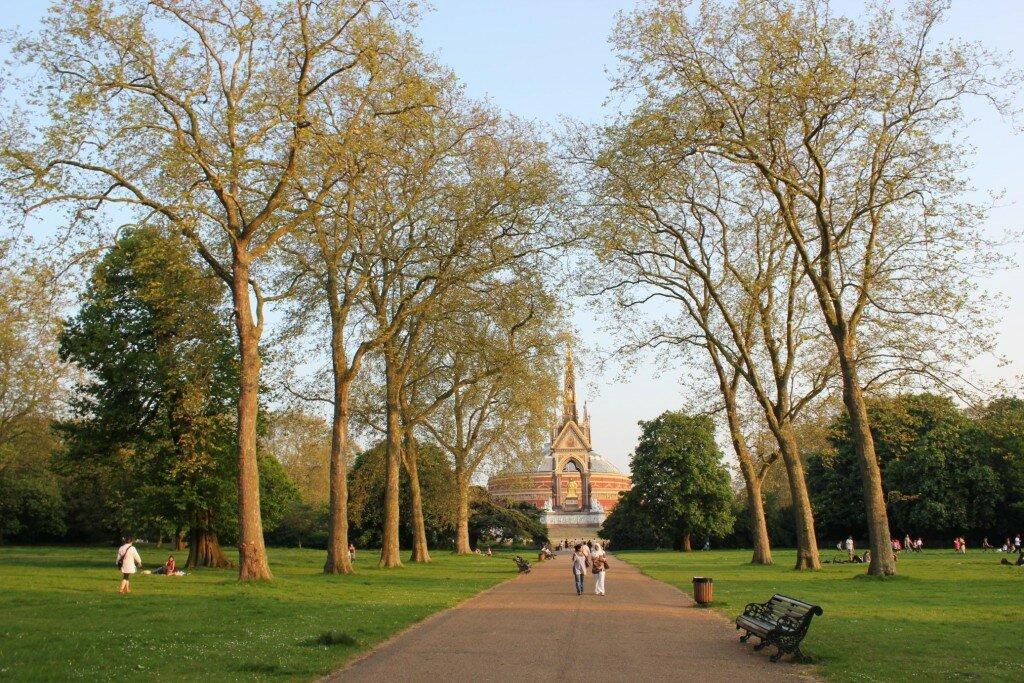 Kensington Gardens. Fotos: Mapa de Londres