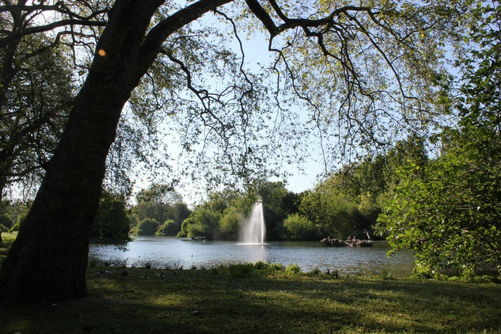 St James's Park - Mapa de Londres