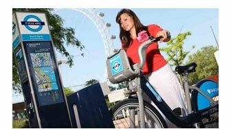 Mais bicicletas de aluguel em Londres