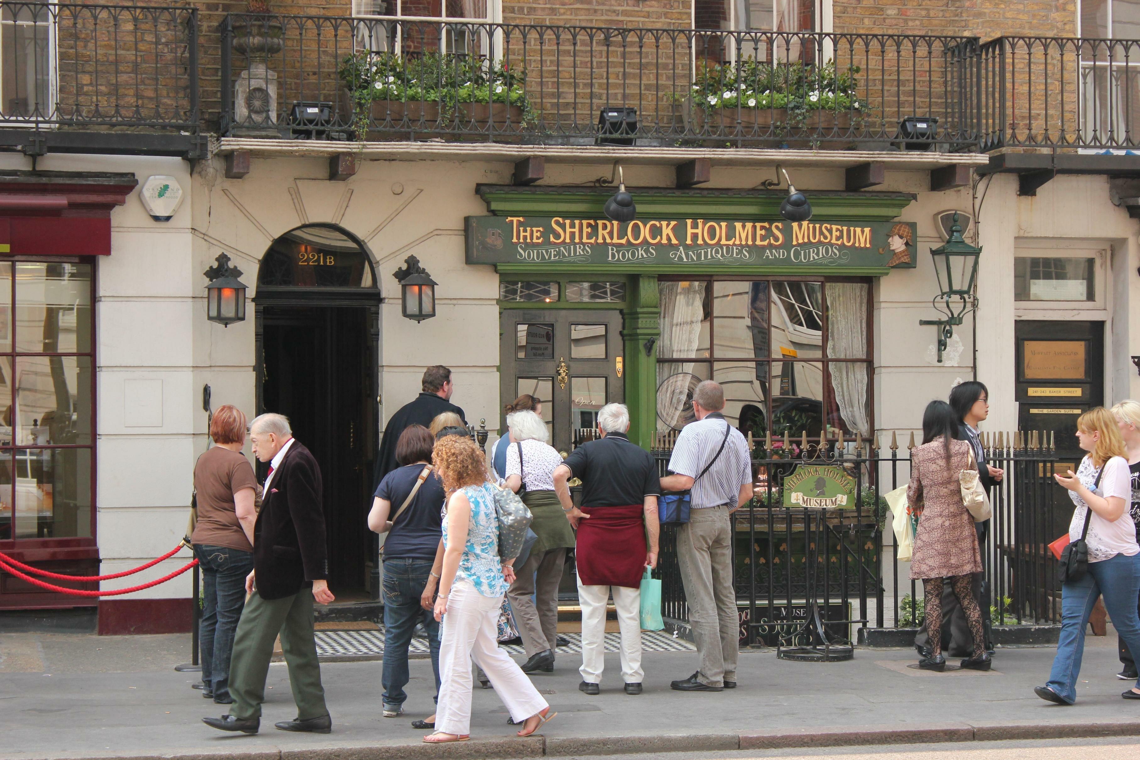 Sherlock holmes visite sua casa em londres mapa de londres - Casa de sherlock holmes ...