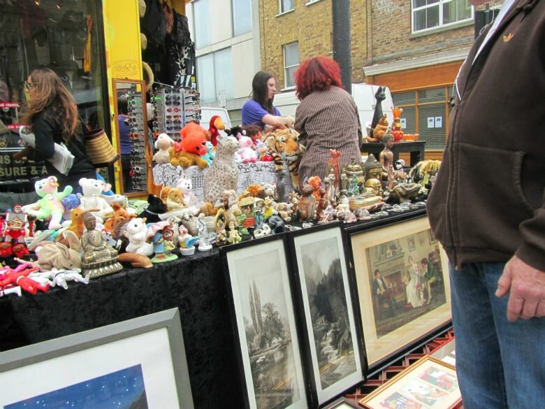 Brick Lane Market - Mapa de Londres