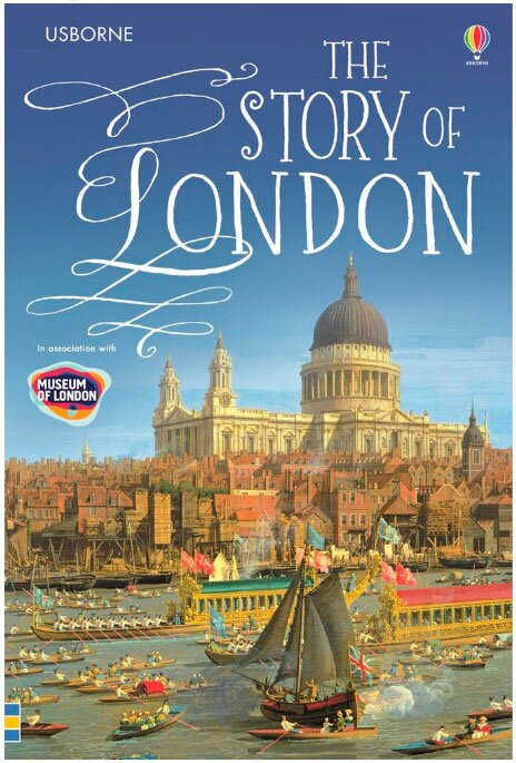 Capa do Livro The Story of London do Museu de Londres