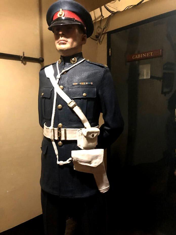 Entrada do gabinete - Churchill War Rooms