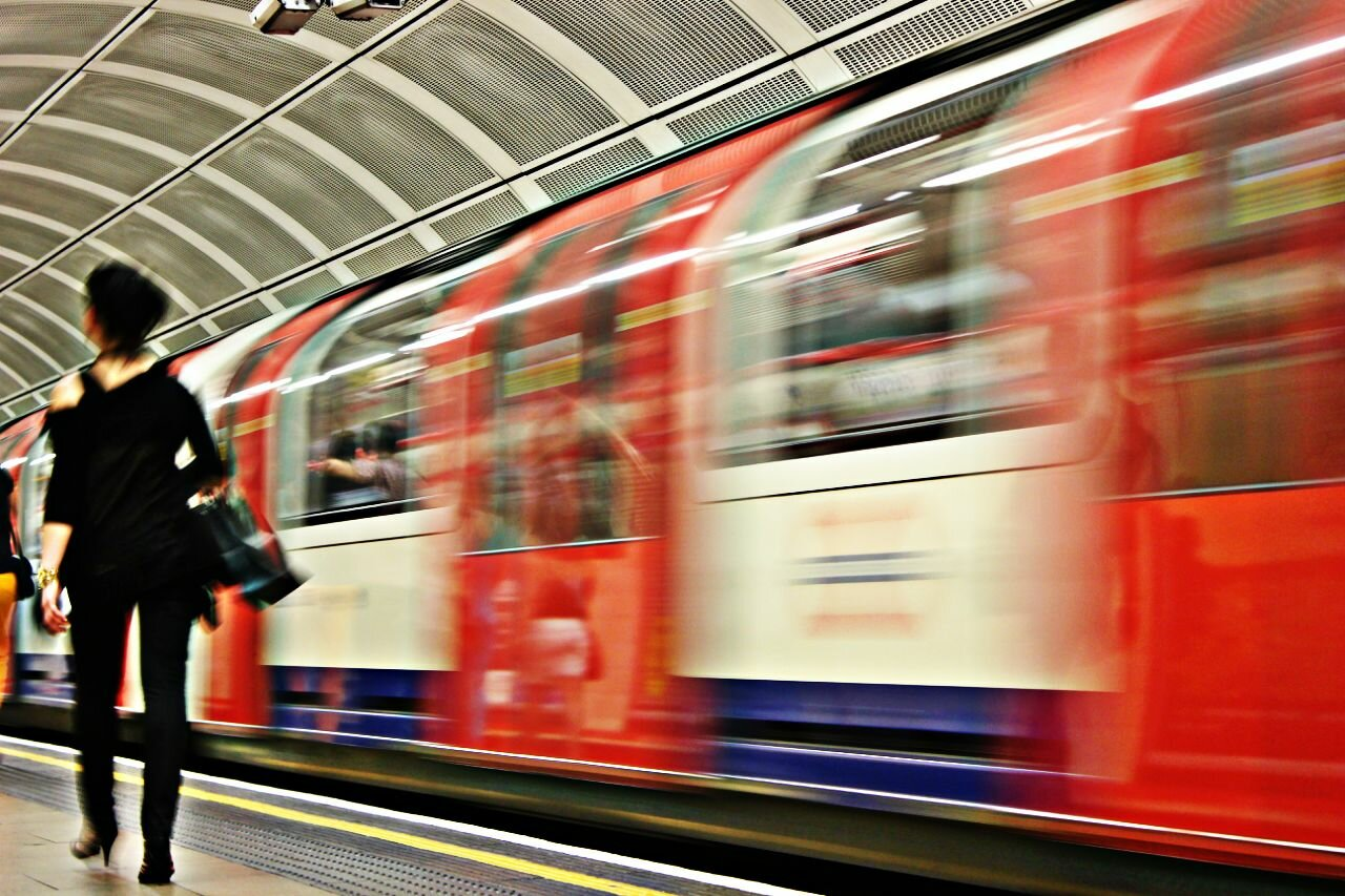 Metrô em Londres - Mapa de Londres