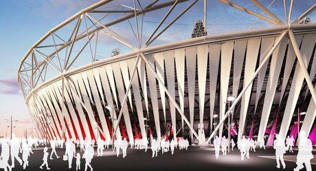 Estádio Olímpico de Londres ganhará embalagem