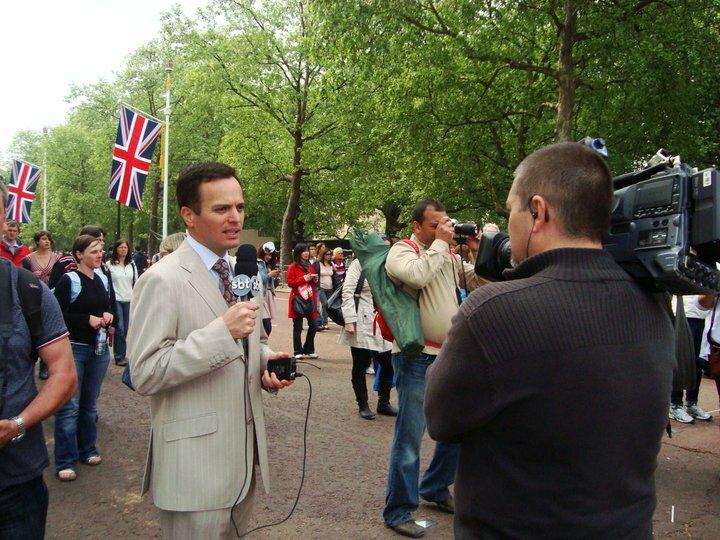 Minha Londres: Marcelo Torres, correspondente do SBT