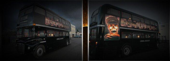 O Ghost Tour, em Londres, é ideal para quem quer aprender história, rir um pouco e tomar alguns sustos, tudo ao mesmo tempo. Os visitantes são transportados em um Routemaster...