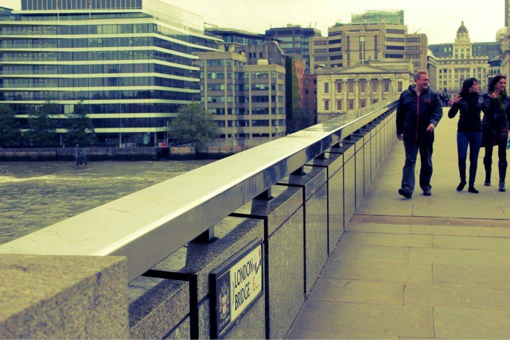 London Bridge é onde se situava a primeira ponte de Londres. Foto: Mapa de Londres