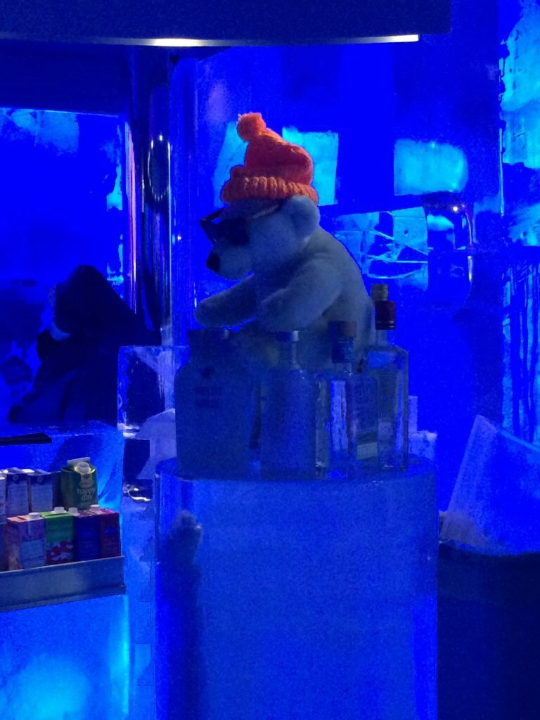 Ice Bar - Mapa de Londres