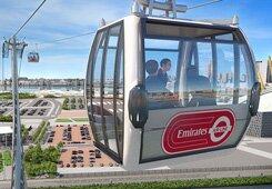 VÍDEO: Teleférico de Londres terá patrocínio da Emirates