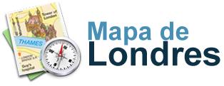 Mapa de Londres – Guia turístico de Londres
