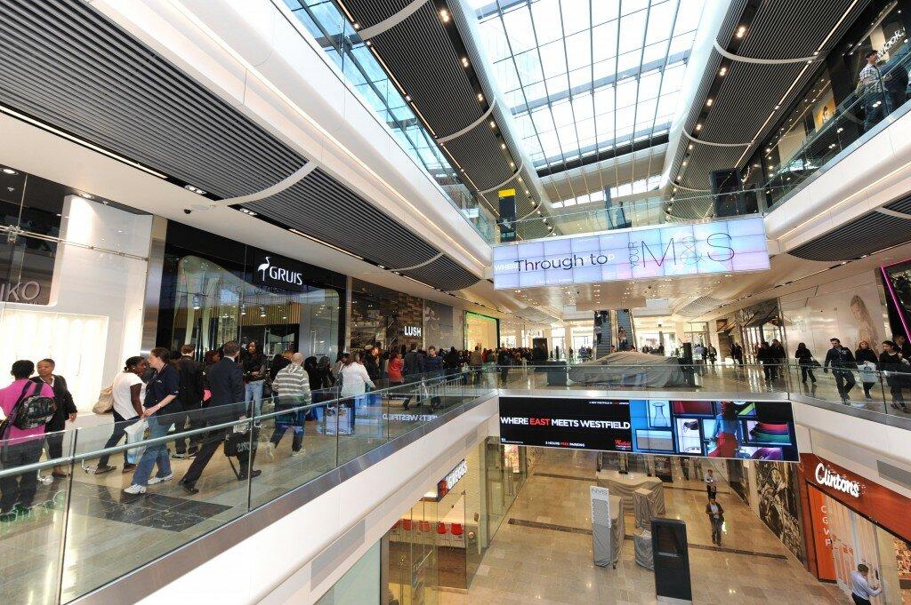 Westfield Stratford City é o maior shopping da Europa