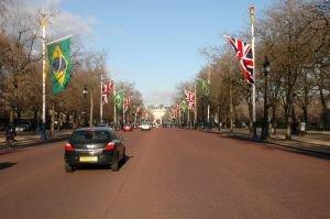 Recorde de brasileiros em Londres em 2011