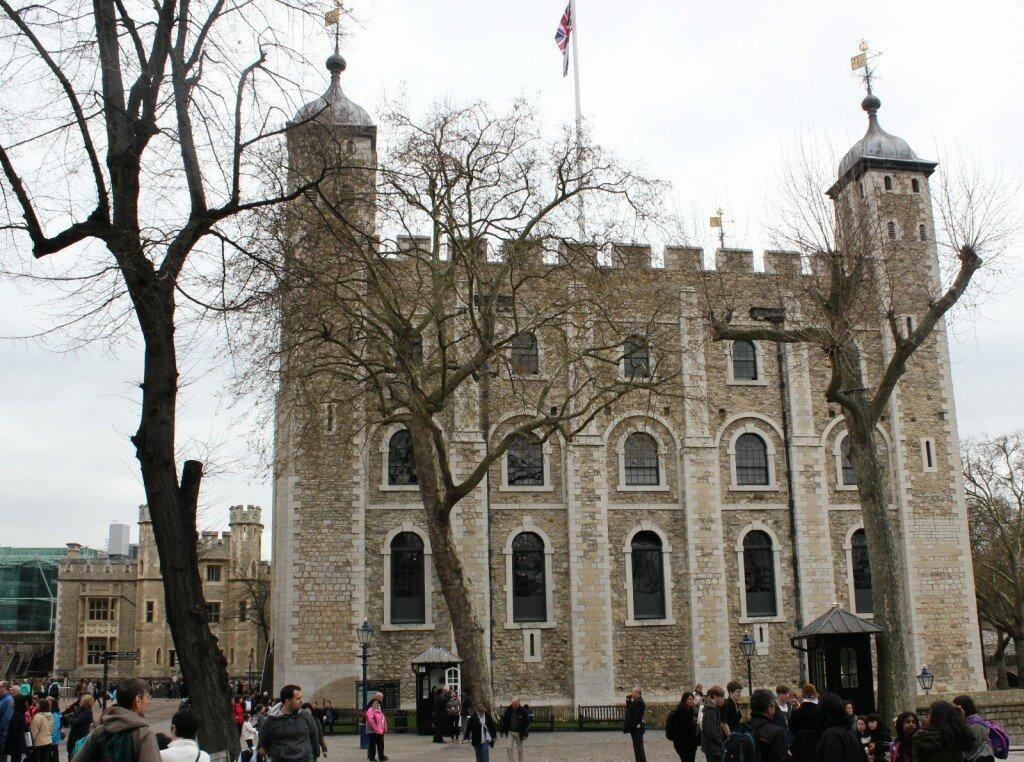 Torre de Londres foi erigida na invasão normanda. Foto: Mapa de Londres