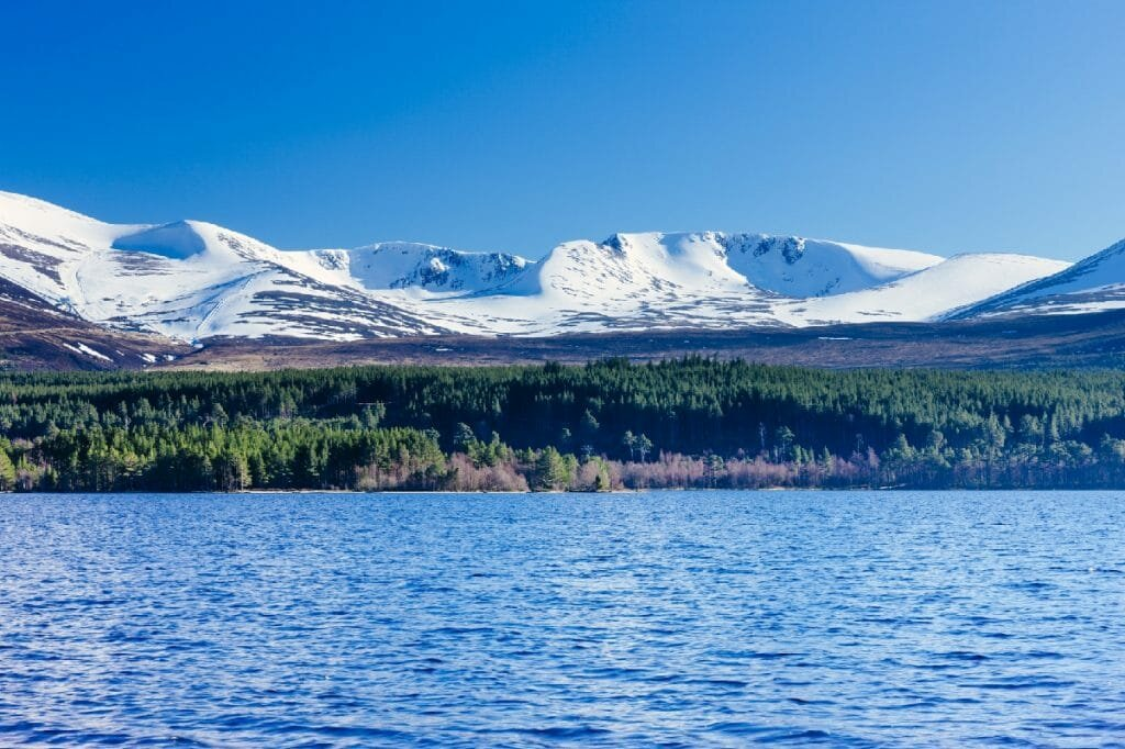 Cairngorms na Escócia