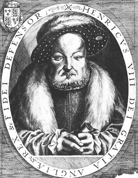 Henry VIII em seus últimos dias. Imagem: Domínio Público