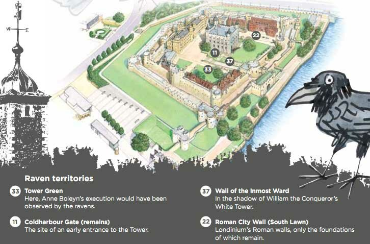 A incrível história dos corvos da Torre de Londres