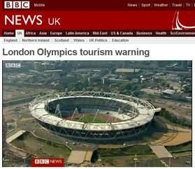 Olimpíadas ameaçam  turismo?