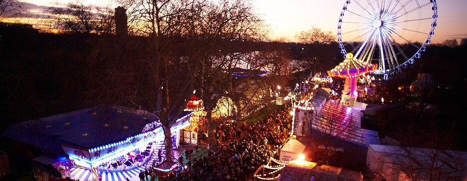 Winter Wonderland no Hyde Park