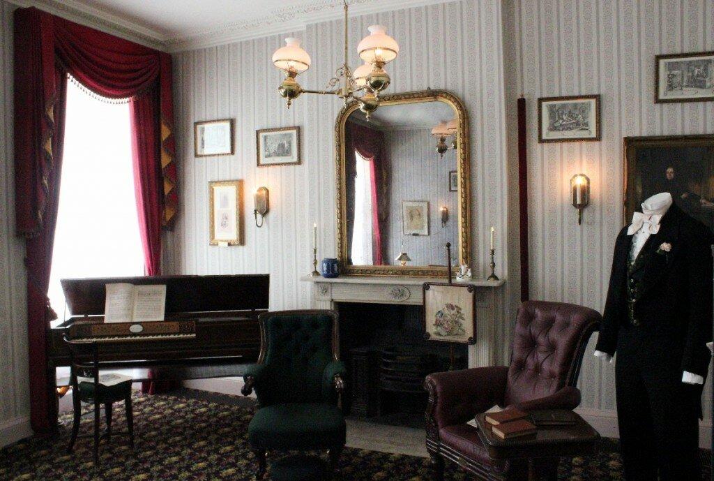 Museu de Charles Dickens - Mapa de Londres