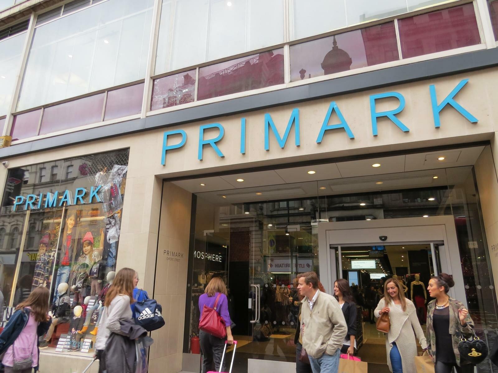 4e443d21d Compras na Primark em Londres