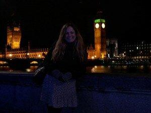 Minha Londres: Roseli Andrion