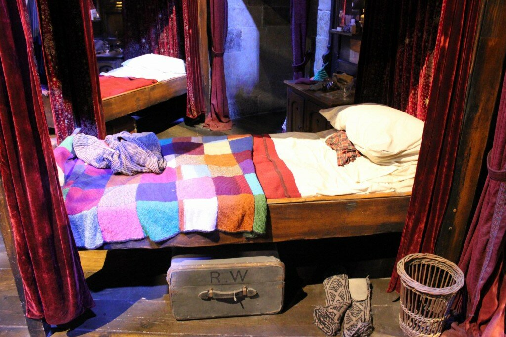 Cama do Rony Weasley