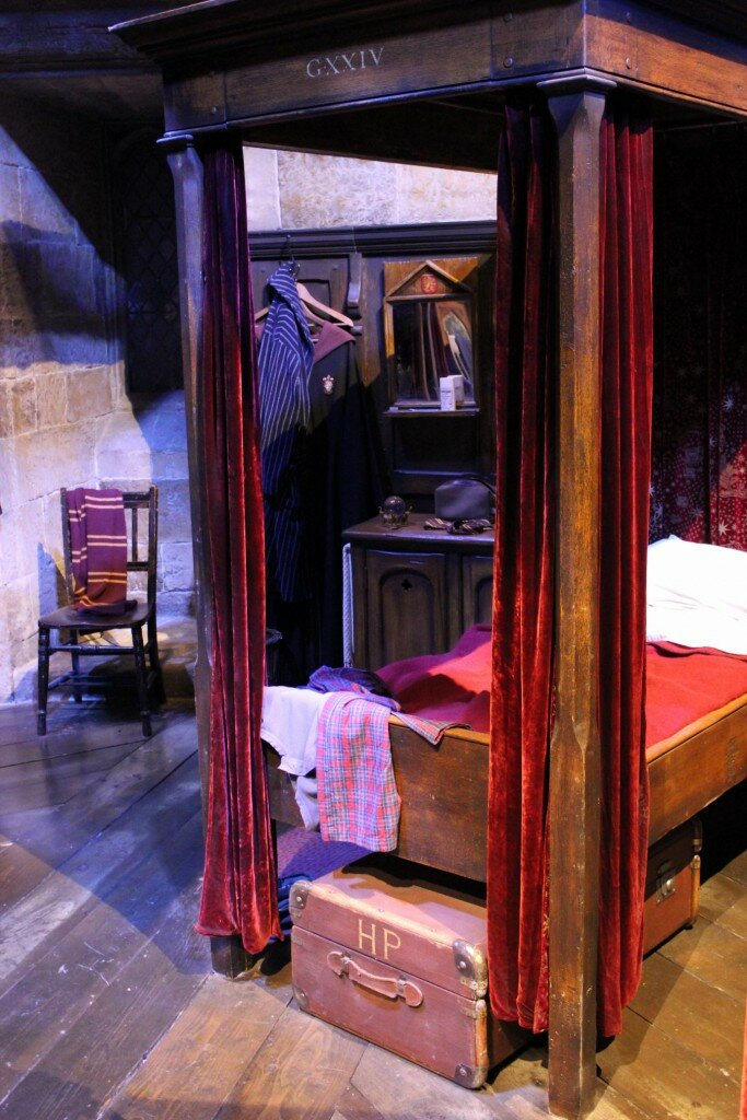 Cama do Harry Potter