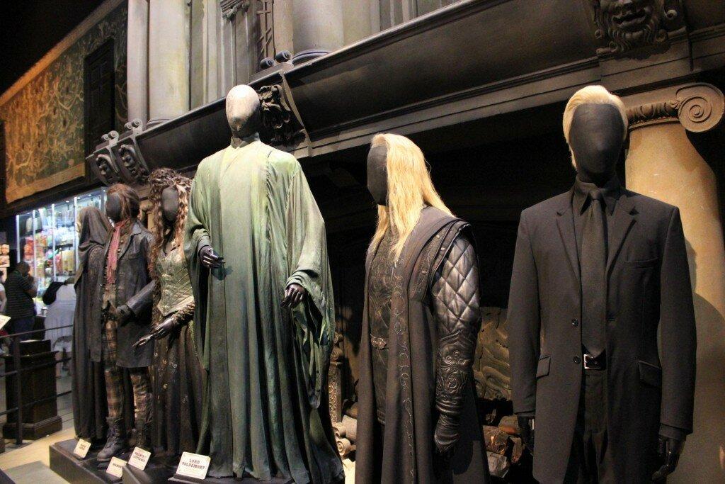 Voldemort e seus Comensais da Morte