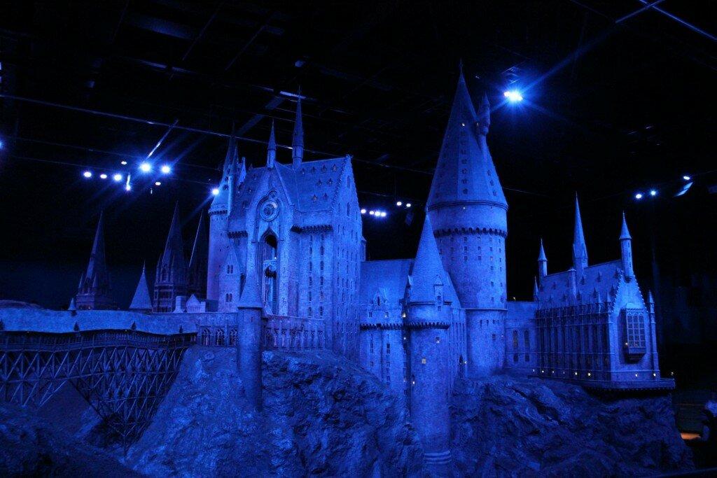 Maquete (gigante) do Castelo de Hogwarts