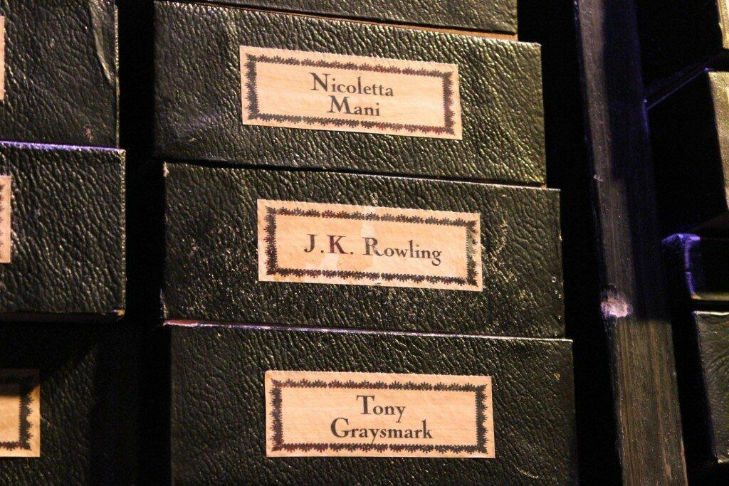 A varinha de J. K. Rowling