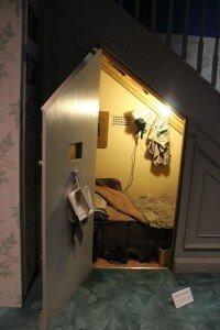 O quarto debaixo da escada