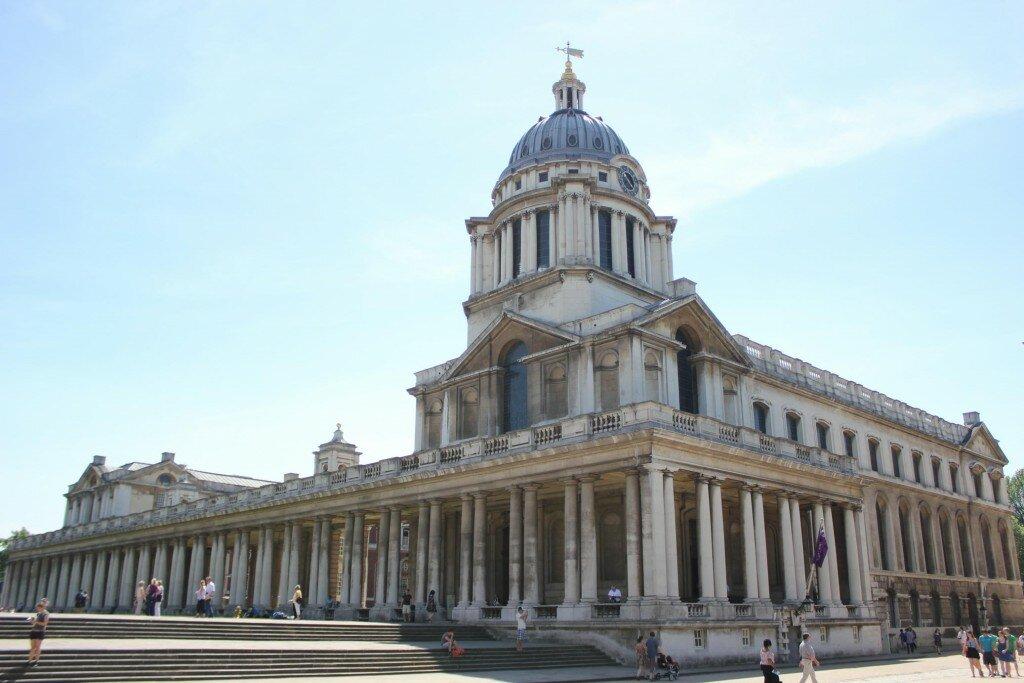Old Royal Naval College - Mapa de Londres