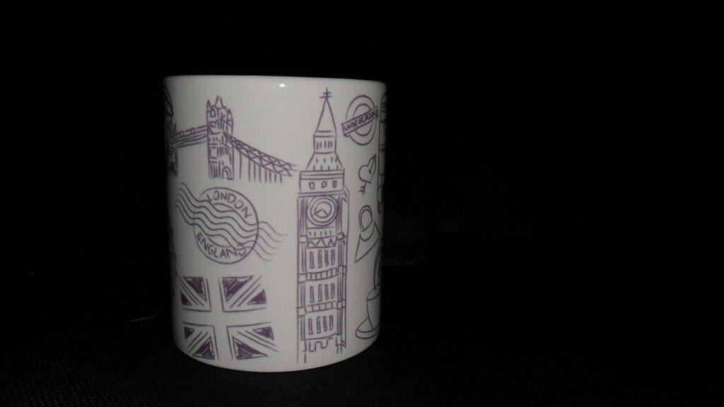 Promoção caneca London Calling