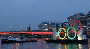 Círculos olímpicos apresentam London Festival