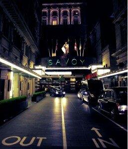 Savoy Hotel - Mapa de Londres