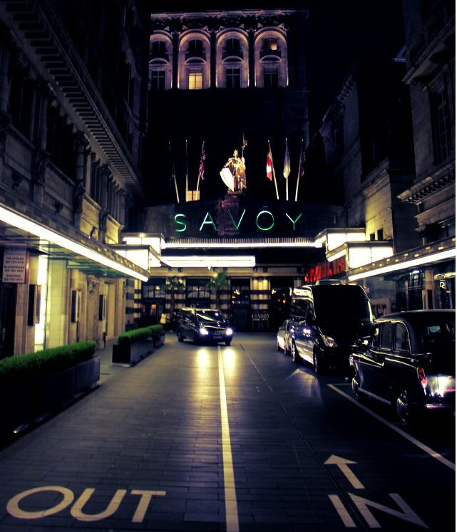 Savoy Hotel. Foto: Mapa de Londres