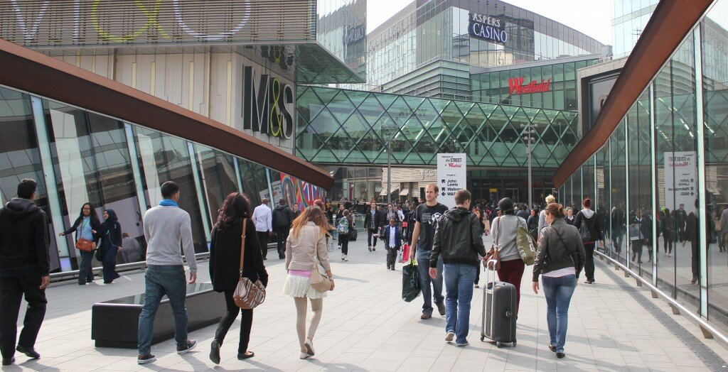 Shopping Westfield Stratford City