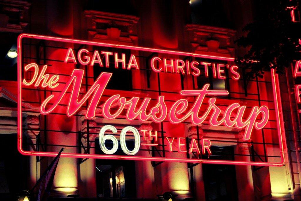 Mousetrap é encenada há mais de 60 anos. Foto: Mapa de Londres