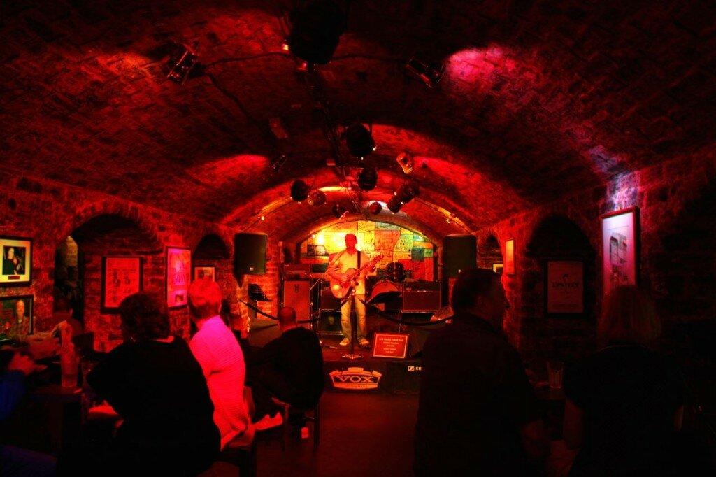 liverpool - cavern club - mapa de londres