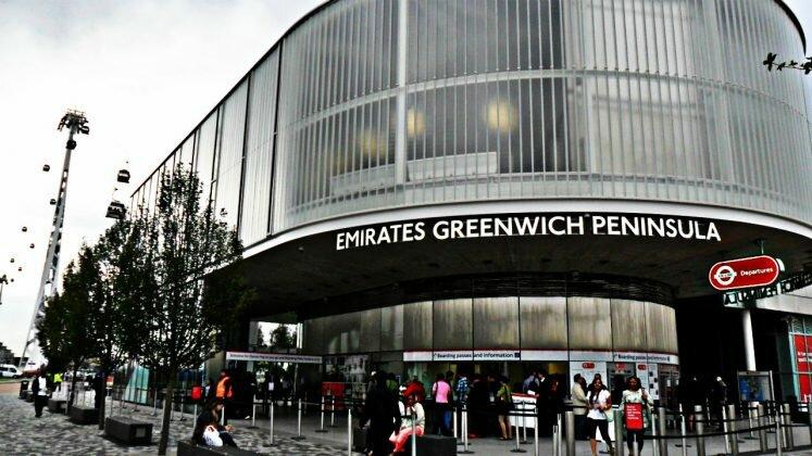 Teleférico de Londres - Emirates Air Line