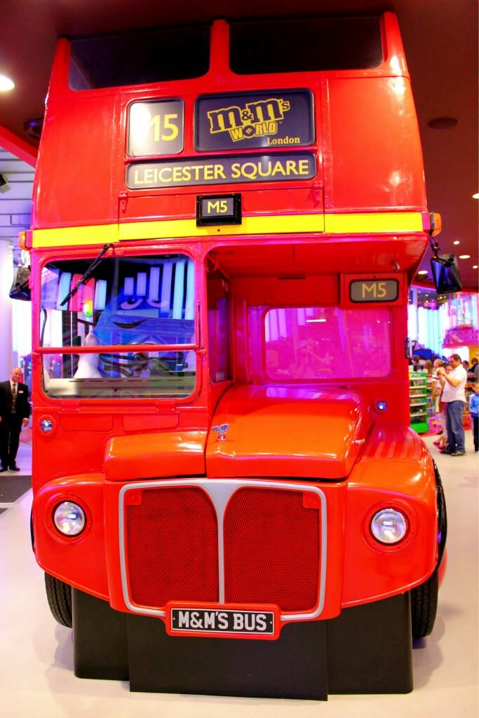Delicious double decker? Foto: Mapa de Londres