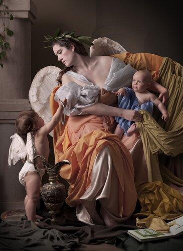 Exposição fotográfica na National Gallery