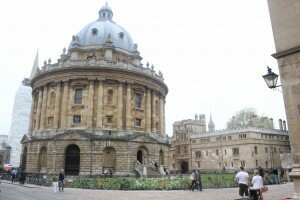 Radcliffe Camera - Oxford - Mapa de Londres