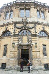 Museu de História da Ciência de Oxford - Mapa de Londres