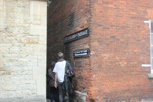 Passagem para The Turf Tavern - Oxford - Mapa de Londres