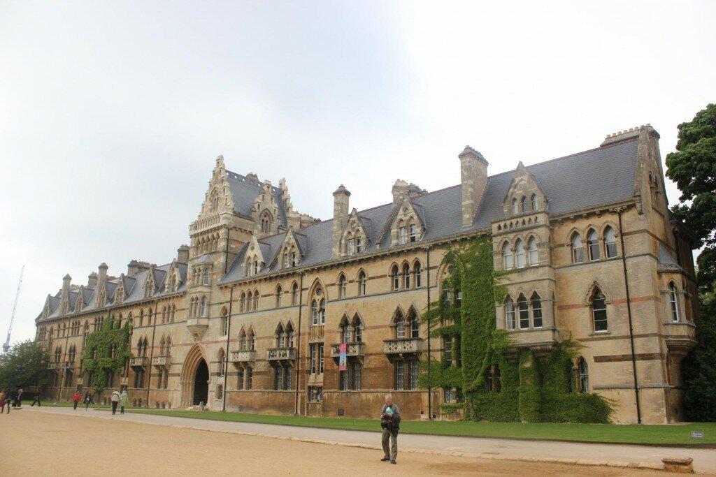 Christ Church College, e, Oxford . Foto: Mapa de Londres