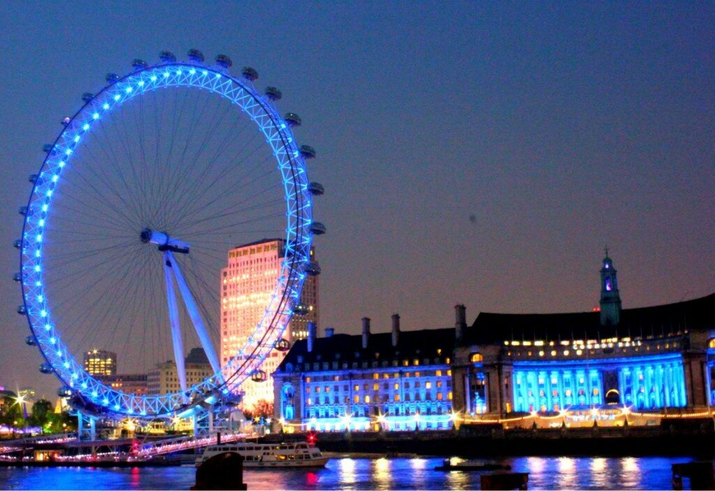 London Eye. Foto: Mapa de Londres